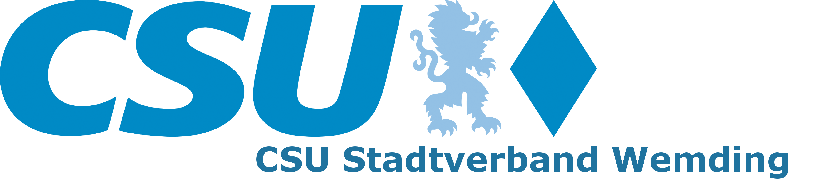 CSU Stadtverband Wemding Logo